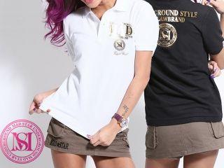 MAD STAR MS15TO07 シャウトポロシャツ カラー:ブラック サイズ:WM
