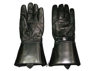 MOTO FIELD MFG-157 牛革ロンググローブ レディース カラー:ブラック/ブラック サイズ:WM