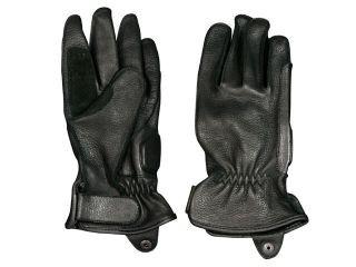 MOTO FIELD MFG-214 鹿革 グローブ レディース カラー:ブラック サイズ:WM