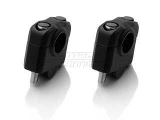 SW-MOTECH φ22バー ライザー 25mmアップ カラー:ブラック