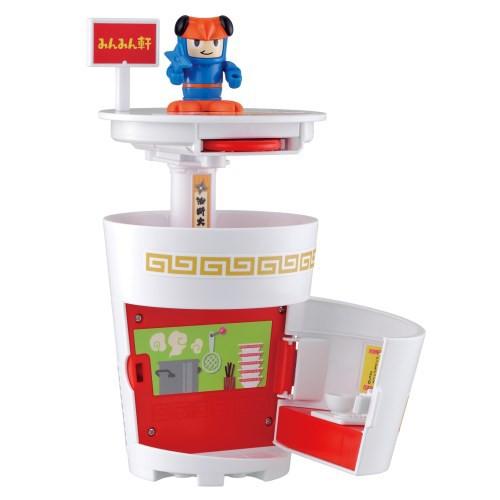 送料無料 ムシ忍 セミニンのカップラーメンタワー おもちゃ こども 子供 男の子 3歳