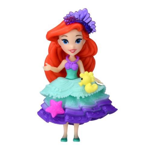 27619936763135 ディズニープリンセス リトルキングダム LK-02 アリエル おもちゃ こども 子供 女の子 人形遊び 4歳~ リトルマーメイド(アリエル)  □詳細説明 約8cmの小さなドール ...