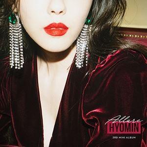 輸入盤 HYOMIN (T-ARA) / 3RD MINI ALBUM : ALLURE [CD]
