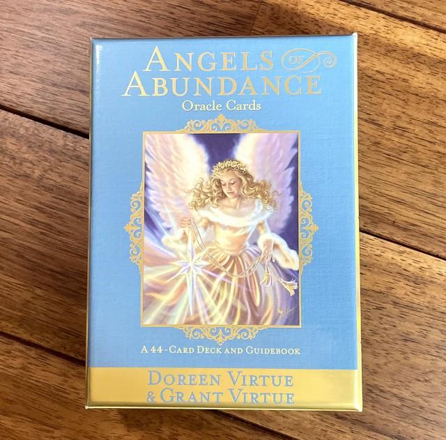 ANGELS of ABUNDANCE ORACLE CARDS−エンジェルオブアバンダンスオラクルカード / 占い カード占い タロット ヴィジョナリー カンパニー