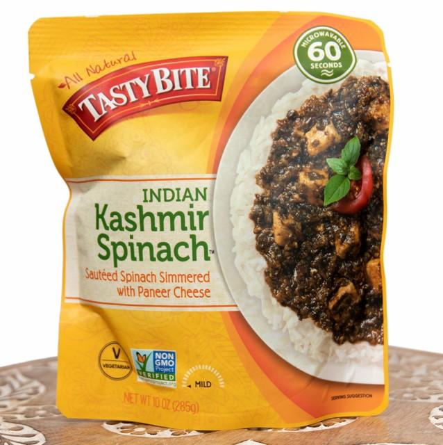 カシミール スピナッチ(カシミール風ほうれん草とカッテージチーズのカレー) / tasty bite インド料理 パニール レトルト アジアン食品