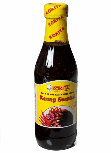 ケチャップ サンバル マイルド Kecap Sambal Mild シーズニング醤油 【Kokita】 / インドネシア料理 バリ ソース Kokita(コキタ) ナシ