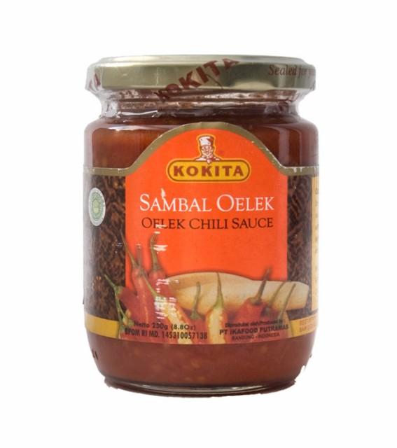 インドネシア チリ ソース サンバルオレック Sanbal Oelek 【KOKITA】 / インドネシア料理 KOKITA(コキタ) バリ ナシゴレン 食品 食材