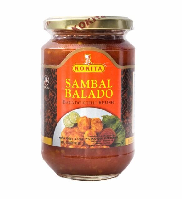 インドネシア チリ ソース サンバルバラド Sambal Balado 【KOKITA】 / インドネシア料理 KOKITA(コキタ) バリ ナシゴレン 食品 食材
