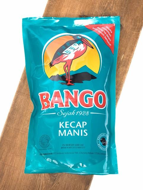 ケチャップマニス エコパック (甘口醤油) Kicap Manis Eco Pack 【BANGO】 / 甘醤油 ブラックソイソース インドネシア ハラル BANGO(バ