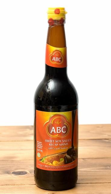 ケチャップマニス (甘口醤油) 600ml Kecap Manis 【ABC】 / 甘醤油 ブラックソイソース インドネシア ハラル ABC(エービーシー) バリ