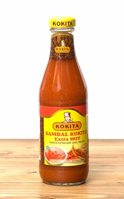 サンバル コキタ エキストラ ホット Sambal KOKITA Extra HOT トマトチリソース 【Kokita】 / インドネシア料理 バリ Kokita(コキタ)