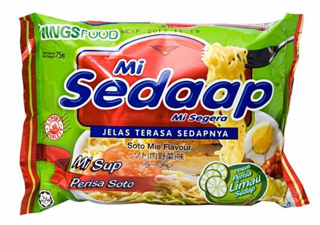 インスタント ヌードル ソト(肉野菜)味 【Mie Sedaap】 / インドネシア料理 インスタント麺 ミーゴレン 焼きそば Mie Sedaap(ミーセ