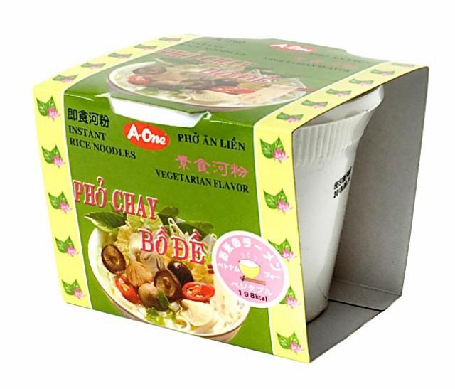 ベトナム フォー インスタント カップ 【A One】 ベジタブル味 / ベトナム料理 インスタント麺 One(エーワン) BBQ 食品 エスニック ア