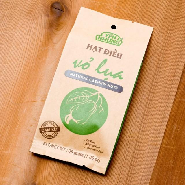 ローストナチュラルカシューナッツ / The Tea Room チョコレート 紅茶 オーガニック タイ 菓子 スナック アジアン食品 エスニック食材
