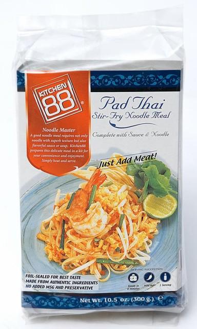 お手軽! タイ焼きそば「パッタイ」セット 2人前 220g / タイ料理 生春巻き アジアン食品 エスニック食材