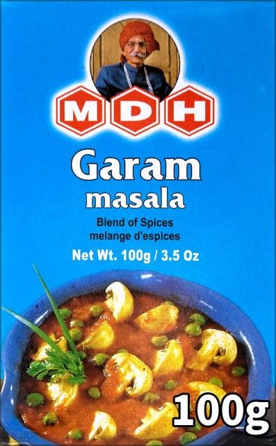 ガラムマサラ スパイス ミックス 100g 小サイズ 【MDH】 / インド料理 カレー MDH(エム ディー エイチ) アジアン食品 エスニック食材