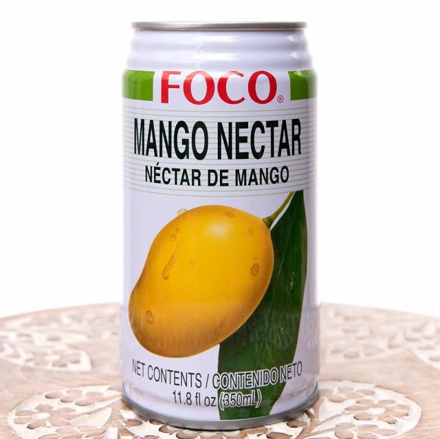 FOCO マンゴージュース 350ml缶 / タイ FOCO(フォコ) 変わりもの食品 お菓子 飲み物 アジアン食品 エスニック食材