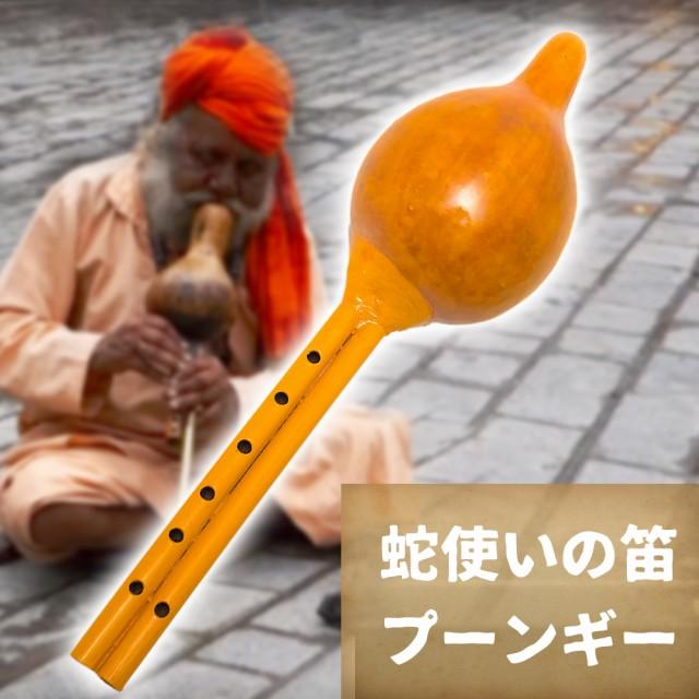 【送料無料】 プーンギー 蛇使いの笛 / インド 楽器 管楽器 民族楽器 インド楽器 エスニック楽器 ヒーリング楽器