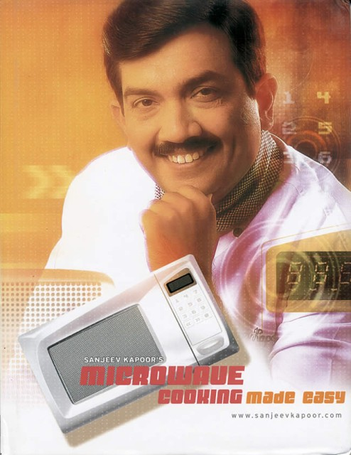 Microwave Cooking Made Easy / Sanjay and Co. インド 料理 レシピ 料理本 作り方 印刷物 ステッカー ポストカード ポスター