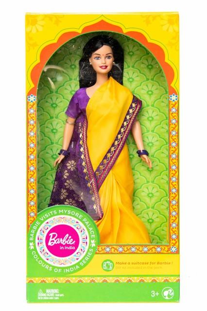 【送料無料】 インドのバービー人形 マイソール宮殿訪問 / サリー パンジャビ エスニック アジア 雑貨